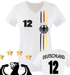 Druck NAME Deutschland Kinder BABY BODY Größe EM T-Shirt Trikot NR grün