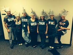 Shark Week group costume for work.