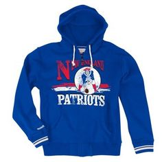 c4e19f533b0 Official New England Patriots ProShop - M+N Throwback Start Of The Season  Full Zipper