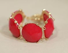 Fuchsia and Gold Bubble Bracelet from Southern Jewelry Auctions on Facebook!