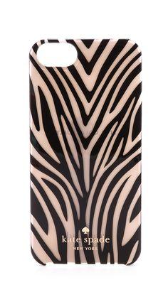 Kate Spade New York Small Tiger Jewel iPhone
