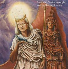 Light-bringer–honoring Goddess as Juno Lucina (Old Roman) & Lucia (Old Swedish); merged with the Christian feast of St. Lucia.--Mystics Wheel of the Year  Image: Sandra M. Stanton