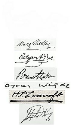 famous authors signatures one day your signature could