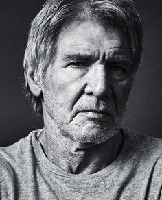 Harrison Ford (1942) - American film actor and producer. Photo by Andy Gotts