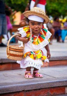 Haiti. <3 Children of Haiti make me smile!