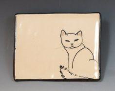 Handbuilt Keramik Seifenschale mit Schnecke von SuramicsPottery