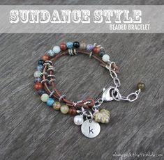 DIY Sundance Style Bracelet