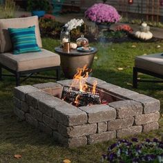 Nice 35 Easy and Cheap Fire Pit and Backyard Landscaping Ideas https://crowdecor.com/35-easy-cheap-fire-pit-backyard-landscaping-ideas/ #landscapingandoutdoorspaces #LandscapingIdeas