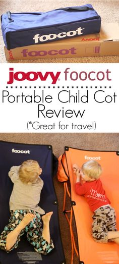 Portable Child Cot (Joovy Foocot) Review - a great family travel product!