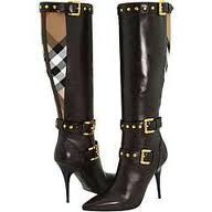 Burberry Nova Check Boots