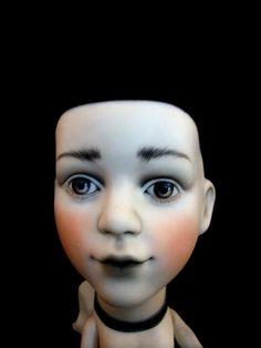 Collection dolls by Yano Yoro, via Behance