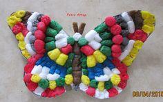Schmetterling aus Playmais