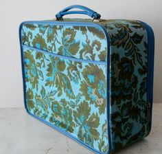 """Vintage Avon carrying case. I always wanted to get my hands in this!!  I just LOVED it when Ms. Willie Ruth and Ms. Sally Lou came calling! (""""Avon Calling"""")"""
