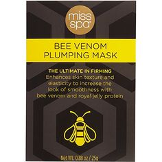 Miss Spa Bio Cotton Bee Venom Plumping and Firming Facial Mask