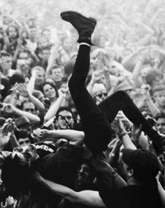 crowd surfing: for those who are afraid of the ocean