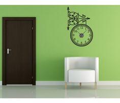 wall clock decal, cool
