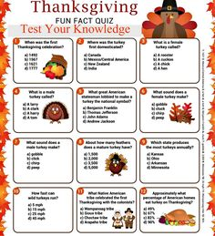 Happy Thanksgiving Trivia 2018 - Erntedankfest Frage & Antwort -You can find Trivia and more on our website. Thanksgiving Trivia Questions, Thanksgiving Family Games, Thanksgiving Facts, Thanksgiving Celebration, Thanksgiving Traditions, Thanksgiving Parties, Happy Thanksgiving, Thanksgiving Cookies, Thanksgiving Recipes