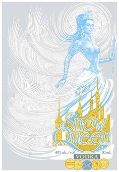 Yes, please - Snow Queen vodka.