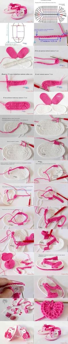 Repeat After me Crochet: DIY Sweet Crochet Baby Summer Bootie by Nina Maltese
