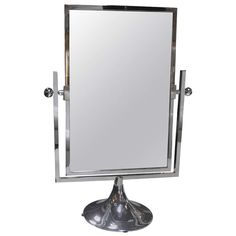 Vanity Mirror by Charles Hollis Jones   From a unique collection of antique and modern table mirrors at http://www.1stdibs.com/furniture/mirrors/table-mirrors/