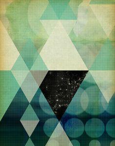 GEOMETRIC 003 Art Print/ matthew taylor wilson