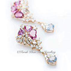 @Regrann from @farahkhanali -  Do you like our Natural Sapphires and Diamond earrings? By @farahkhanfinejewellery #farahkhanfinejewellery #fkfj #fkfjdesign #farahkhanali  #Regrann