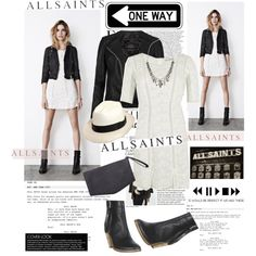 """All Saints - Spring/Summer Collecxtion"" by lidia-solymosi on Polyvore"
