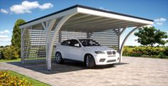 The carports are available in various modules with your choice of 1 or ...