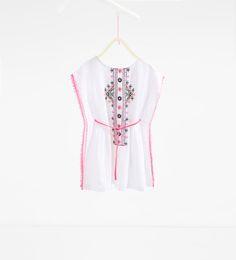 ZARA - KIDS - Embroidered dress