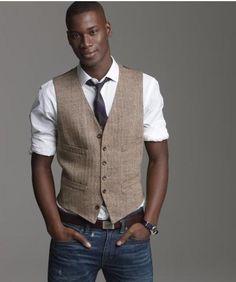 That tie! That vest! Those shoulders...