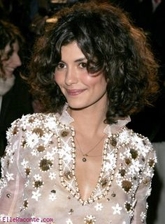 Audrey Tautou :) so I can show people that her hair when long is just like mine...perhaps more poofy!