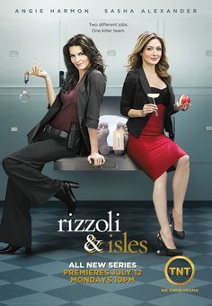 "Rizzoli and Isles based on the series Jane Rizzoli by Tess Gerritsen. Book in the series is ""Silent Girl"""