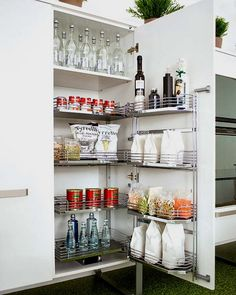 Cool Pull Out Kitchen Drawers And Shelves | Shelterness