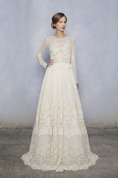 Luisa Beccaria wedding dresses 2014 Collection ... seen in Town and Country Weddings 2014