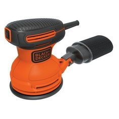random orbital sander - The BLACK DECKER Random Orbit Sander is ideal for most sanding applications. This sander features random orbital action for high removal rate and quality finish. A dust sealed switch extends tool life. 2x4 Bench, Tool Bench, Bench Plans, Table Plans, Dust Collection, Kitchen Nook Bench, Best Random Orbital Sander, Online Shopping, Power Sander