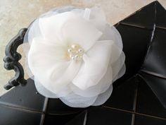 Angelina  beautiful handmade silk organza by DarlasBlooms on Etsy, $32.00