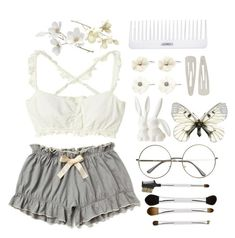 A fashion look from August 2013 featuring underwear lingerie, round glasses and flower hair accessories. Browse and shop related looks. Cute Fashion, Fashion Looks, Fashion Outfits, Fashion Women, Women's Fashion, Petite Fashion, Urban Fashion, Fashion Styles, Fashion Tips