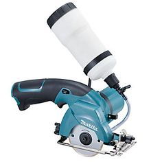 This cordless circular saw from Makita is specifically designed for projects that require the cutting of glass and ceramic tile. Special features include a lock-off lever for maximum safety and a smart battery protection system that shuts your tool off when overloaded or when the overall battery capacity is low.