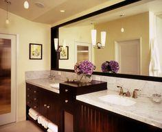 dark cabinets master bathroom