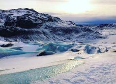 Sólheimajökull Glacier in Iceland | 29 Instagram-Worthy Places To Travel