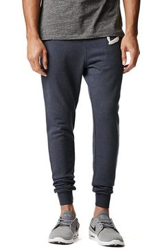 PacSun presents the Diamond Supply Co. Chenille Patch Sweatpants for men. These two tone men's sweatpants come with a contrast Diamond Supply Co. logo sewn on the leg.    	Two tone sweatpants 	Diamond Supply Co. logo sewn on leg 	Front hand pockets 	Zip back pocket 	Elastic, drawstring waist 	Machine washable 	80% cotton, 20% polyester 	Imported