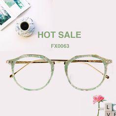 e763e188134 Amanda Geometric Green Glasses FX0063-01 Prescription Glasses Online