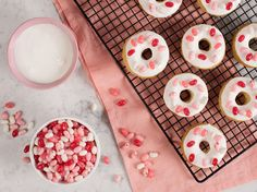Jelly Belly Baked Valentine's Day Donuts