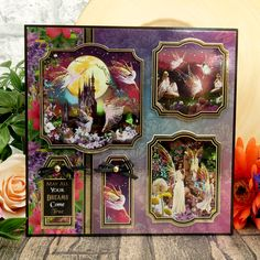 Hunkydory Crafts, Make Dreams Come True, Beautiful Unicorn, Land Of Enchantment, Card Making Inspiration, Enchanted, Decoupage, Fairy Tales, Card Stock