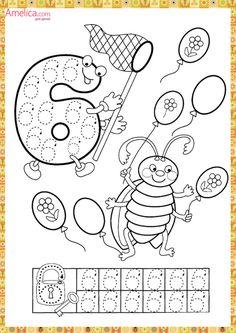 Прописи цифры распечатать бесплатно для детей, прописи - раскраска цифры от 1 до 10