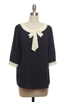 Good Ship Lolli-Top in Navy  $33.99