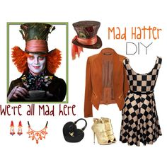 Mad Hatter Inspired Outfit