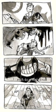 bendy and the ink machine | Tumblr