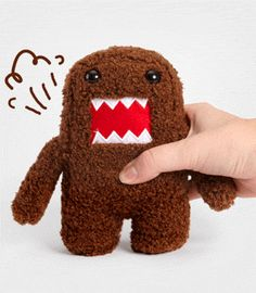 fartin domo plush. so many little kids are obsessed with domos $20
