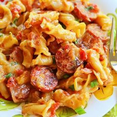 Spicy Sausage Pasta Recipe - ZipList Just made this last night, not only does it taste amazing, but it is so super easy, only 1 pot!